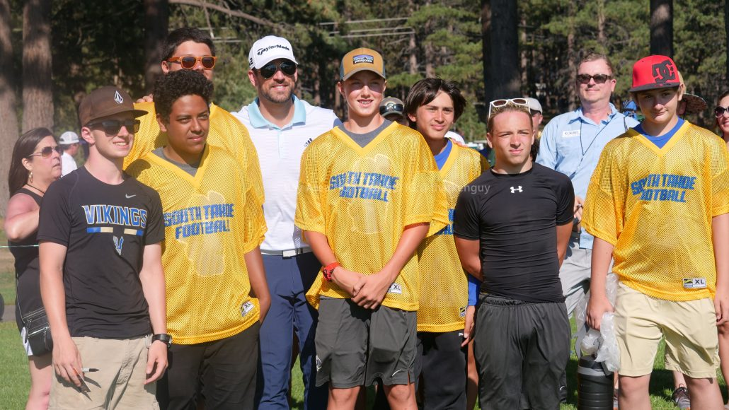 American Century Championship 2017 Images - Justin Timberlake, Stephen Curry, Tony Romo, Aaron Rodggers, Charles Barkley98