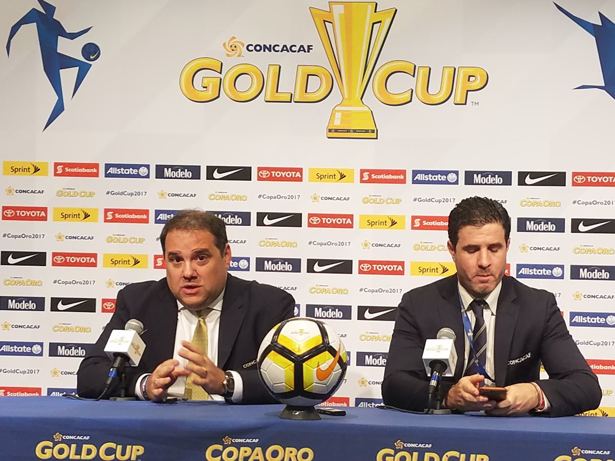 CONCACAF GOLD CUP 2017 Victor Montagliani