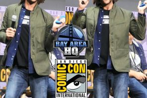 Jared Padalecki acts like crazed fan Supernatural VIDEO