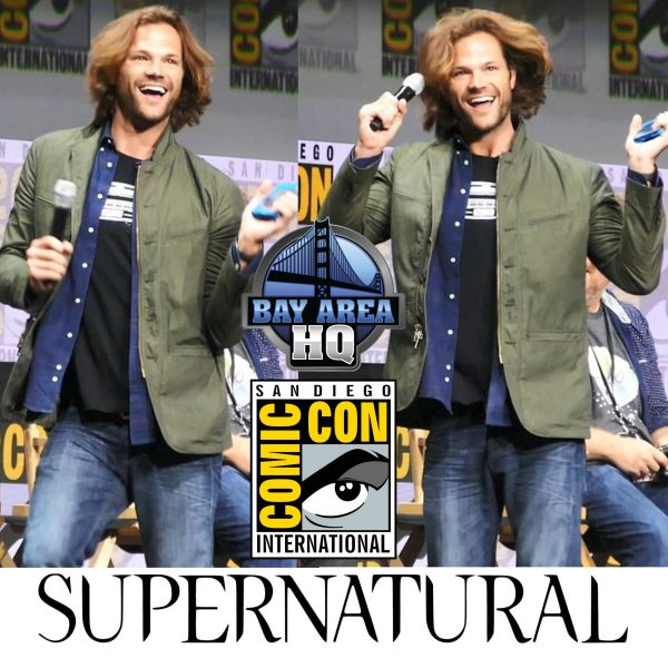 Jared Padalecki Dances like fan at Supernatural San Diego Comic Con 2017 Panel Hall H