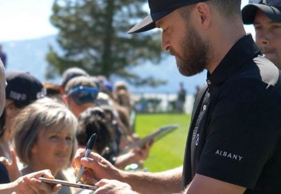 Justin Timberlake American Century Championship 2017 Golf