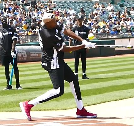 Kevin Durant Interview Highlights Golden State Warriors Javale McGee Celebrity Softball Game 2017 Amber Rose Draymond Green Miles Teller Oakland