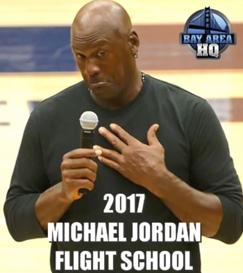 Michael Jordan says he could beat LaVar Ball on one leg