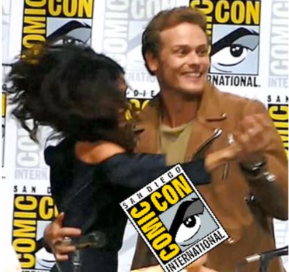 Outlander Cast Dances at San Diego Comic Con Panel Sam Heughan Caitriona Balfe Season 3
