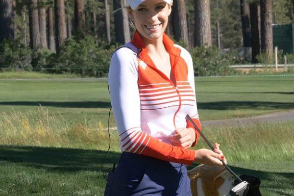 Paige Spiranac American Century Golf Championship 2017 Tahoe Cybersmile Cyberbullying Kids