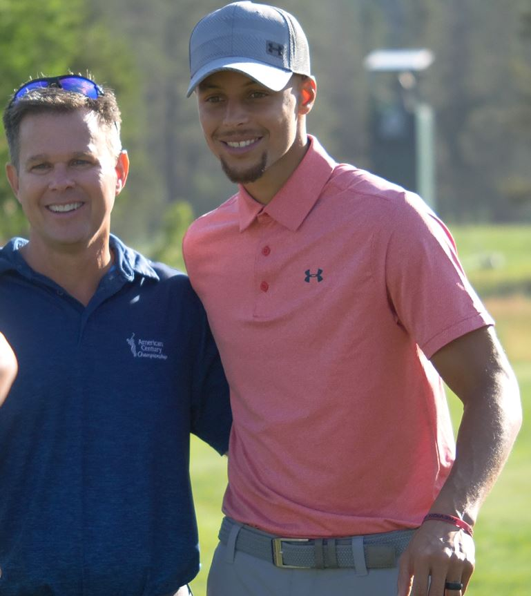 Steph Curry Golf