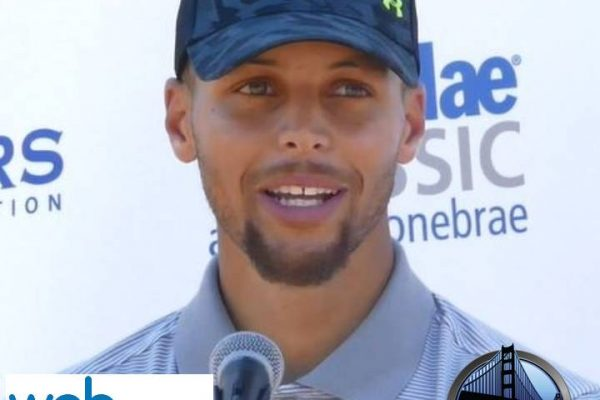 Steph Curry Lebron James Impression Steph Curry Golden State Warriors Web.com Ellie Mae Classic Stonebrae 2017 Golf