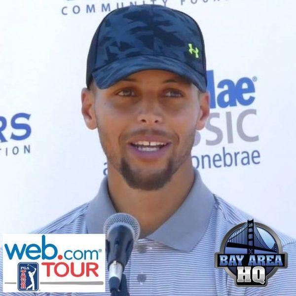 Steph Curry Lebron James Impression Steph Curry Golden State Warriors Web.com Ellie Mae Classic Stonebrae 2017 Golf