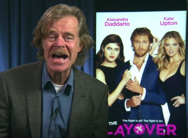William H Macy Dog The Layover San Francisco Interview 2017 Kate Upton Alexandra Daddario