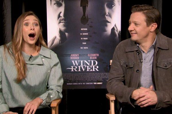 Wind River Elizabeth Olsen Jeremy Renner Interview San Francisco 2017
